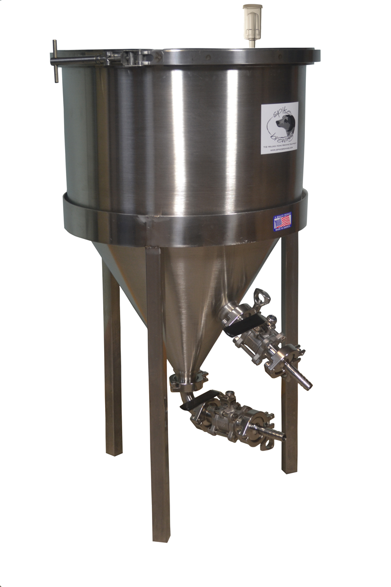 Spike Brewing New Us Made 12 5 Gal Stainless Conical