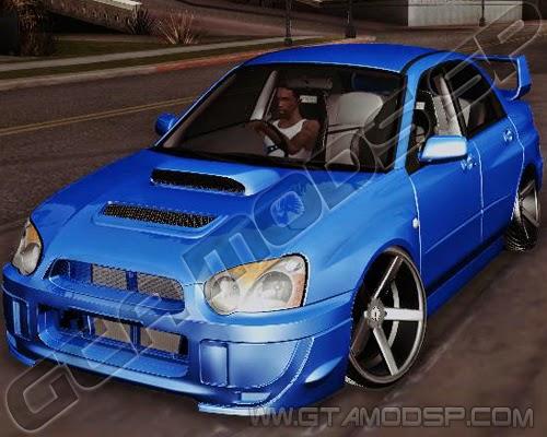 GTA SA - Subaru Impreza WRX STI Stance Nation Sp
