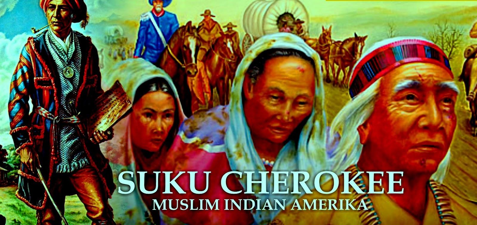 Ketika Penjelajah Muslim Bertemu Suku Cherokee