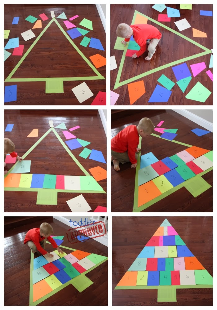 Toddler Approved!: Christmas Tree Advent Puzzle & Awesome DVDs for ...