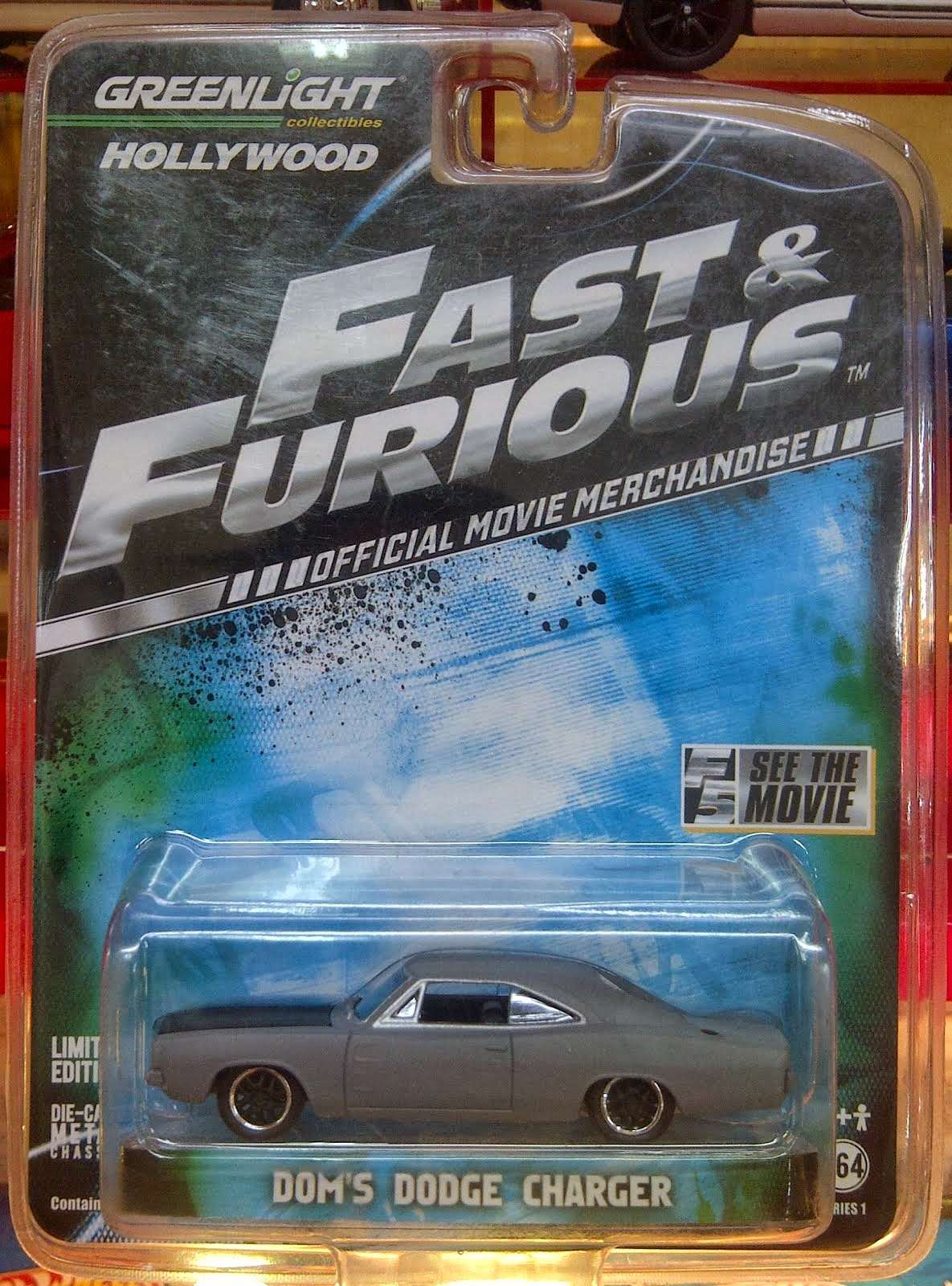 Greenlight Dom Dodge Charger Fast & Furious