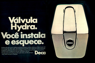 propaganda Válvula Hydra Deca - 1975. 1975. propaganda década de 70. Oswaldo Hernandez. anos 70. Reclame anos 70