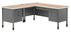 Corner Office Desk by OFM