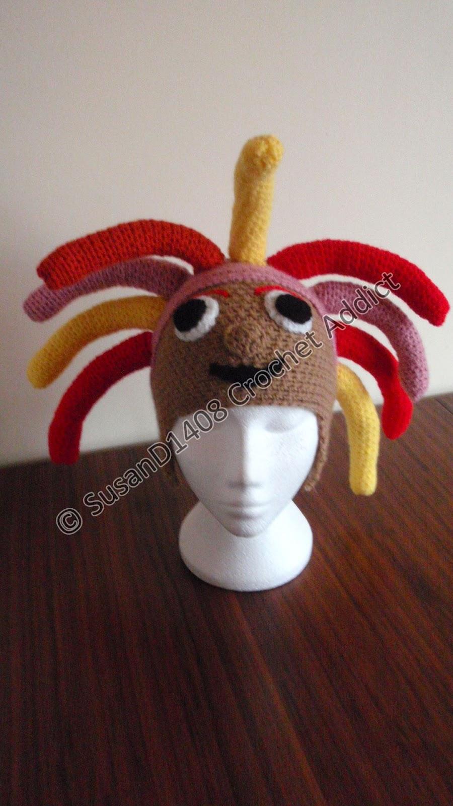 Knitting Pattern For Upsy Daisy : Free Daisy Ear Flap Hat Pattern 1 yr+ ~ Crochet Addict UK