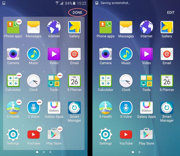 Điện thoại Samsung Galaxy S6 Edge xách tay.