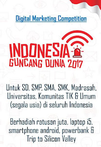 Lomba Blog Indoneisa Guncang Dunia