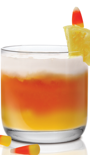 Candy Corn Cocktail via Drink of the Week