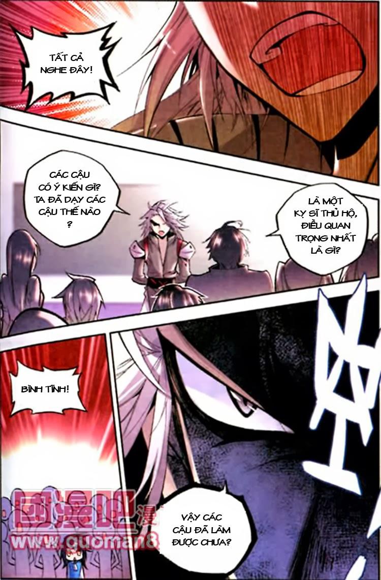 Thần Ấn Vương Tọa chap 17 Trang 7