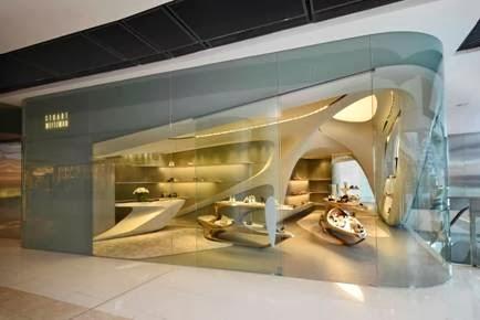 STUART WEITZMAN, boutique, flagship store, inauguración, Zaha Hadid, calzado,