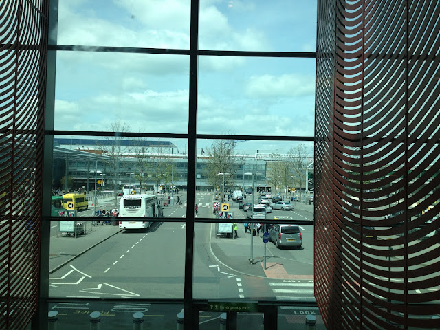 View of the Oustide Area of the Terminal 3 Building