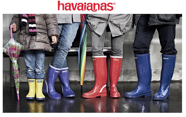 HAVAIANAS, RAINBOOTS, BOTAS DE AGUA, GOMA