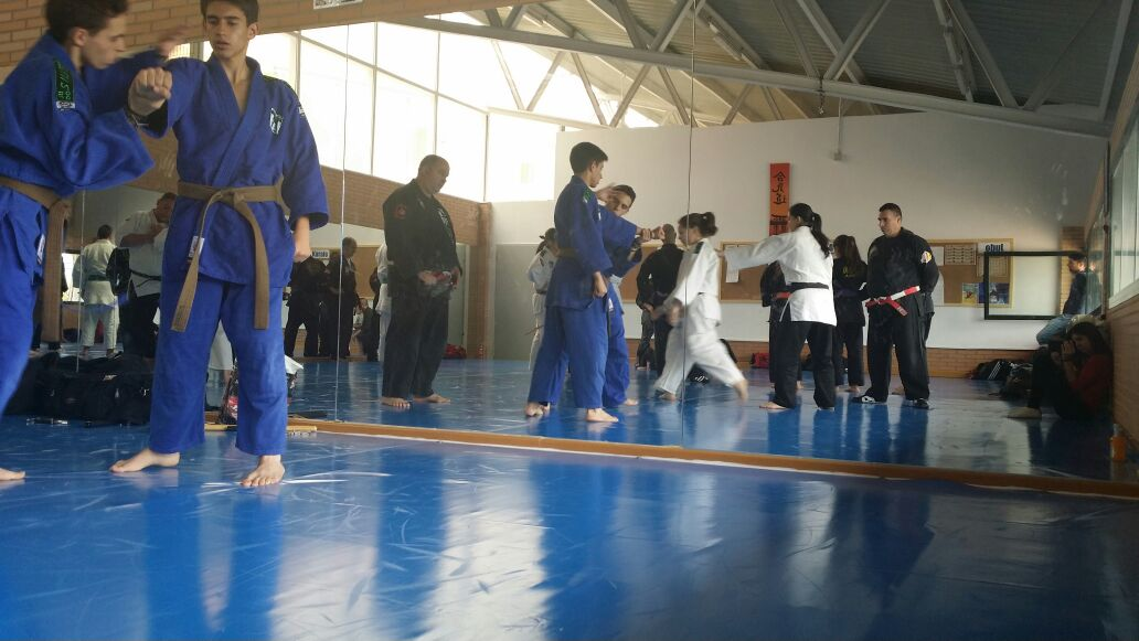 Club de judo jiu jitsu silver encuentro en mejorada del for Gimnasio mejorada del campo