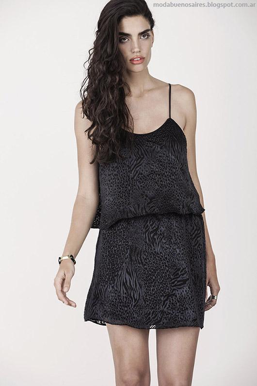 Ayres otoño invierno 2015 moda vestidos invierno 2015.