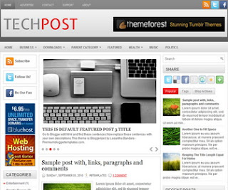 TechPost Blogger Template