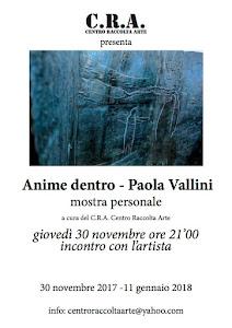 ANIME DENTRO personale di Paola Vallini al CRA