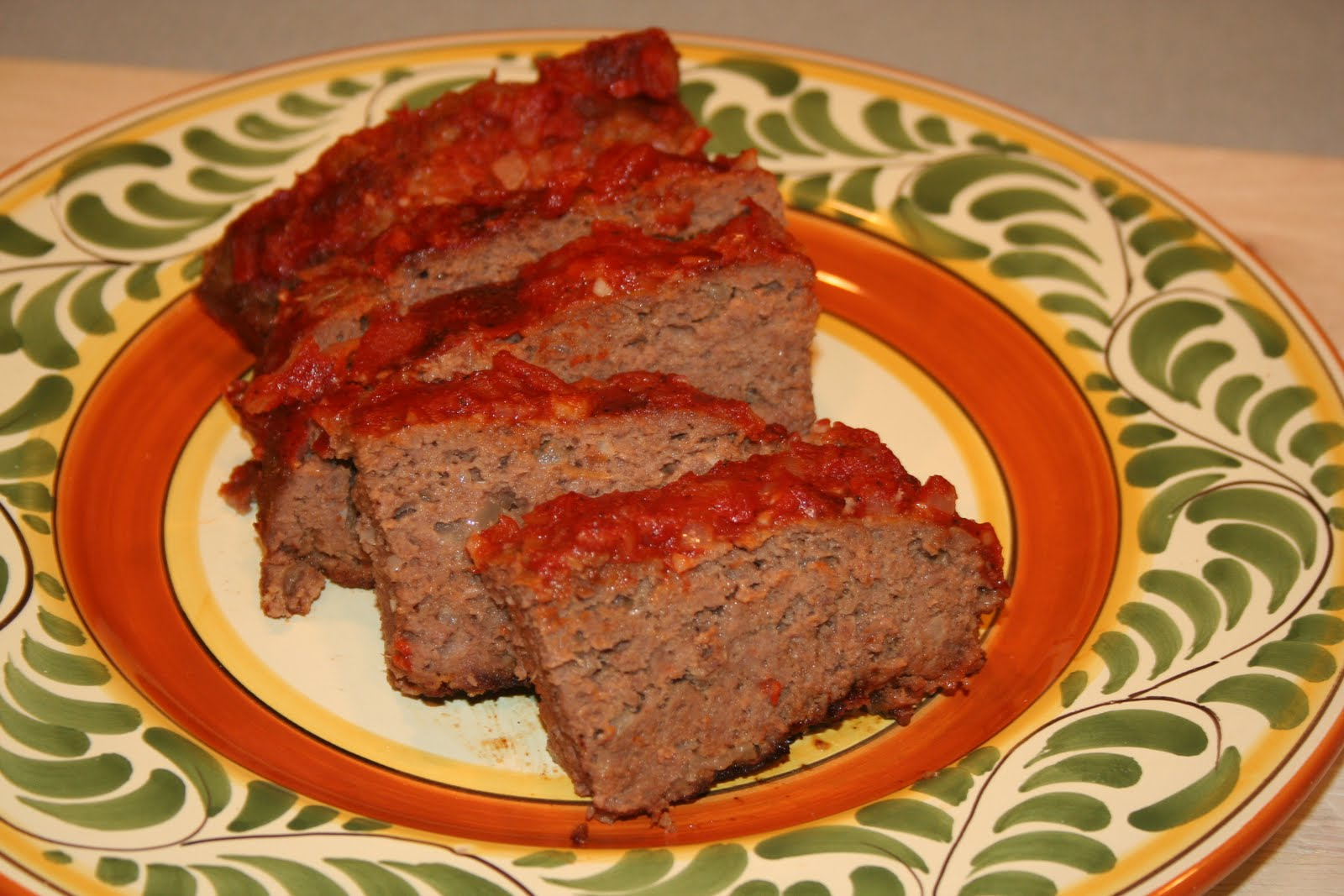 COOK WITH SUSAN: Toaster Oven Meatloaf