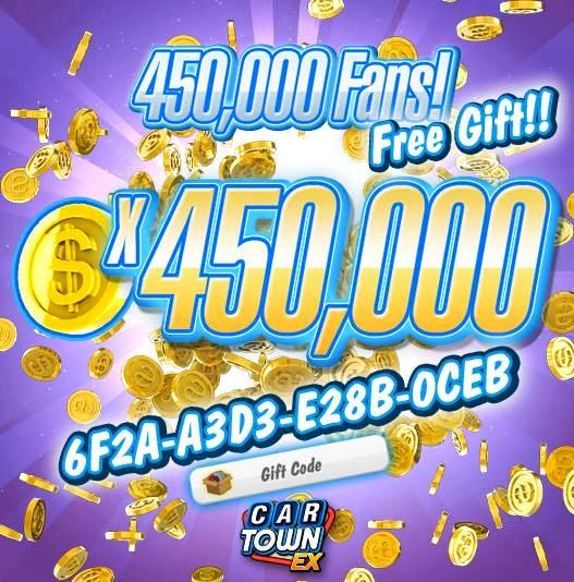 Car Town Ex Gift Code Terbaru 2014 Coins Blue | Autos Post