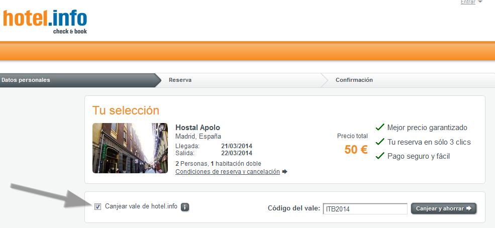 Descuento Hotel.info Hotel.de