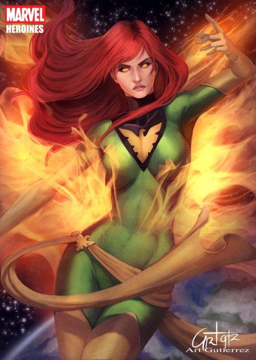 Arturo Z. Gutierrez artgutierrez deviantart ilustrações esilo comics heróis mulheres fantasia