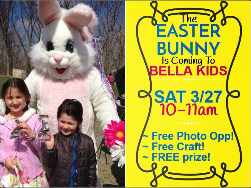 Easter Bunny Visit WNY Bella Kids