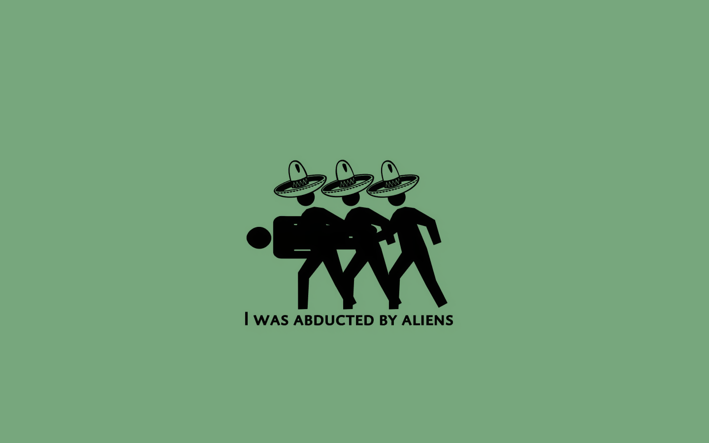 wallpaper a day: i was abductedaliens mexican threadless wallpaper