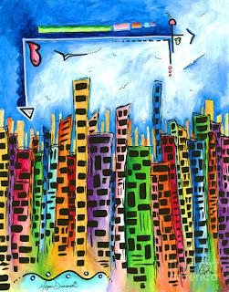 Modernos Diseños de Cuadros con Ciudades