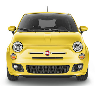 Fiat 500 in Giallo