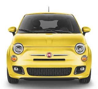Fiat 500 in Giallo