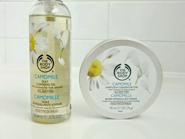 Battle Of The Body Shop Camomile Cleansers Camomile oil vs cleansing butter blog