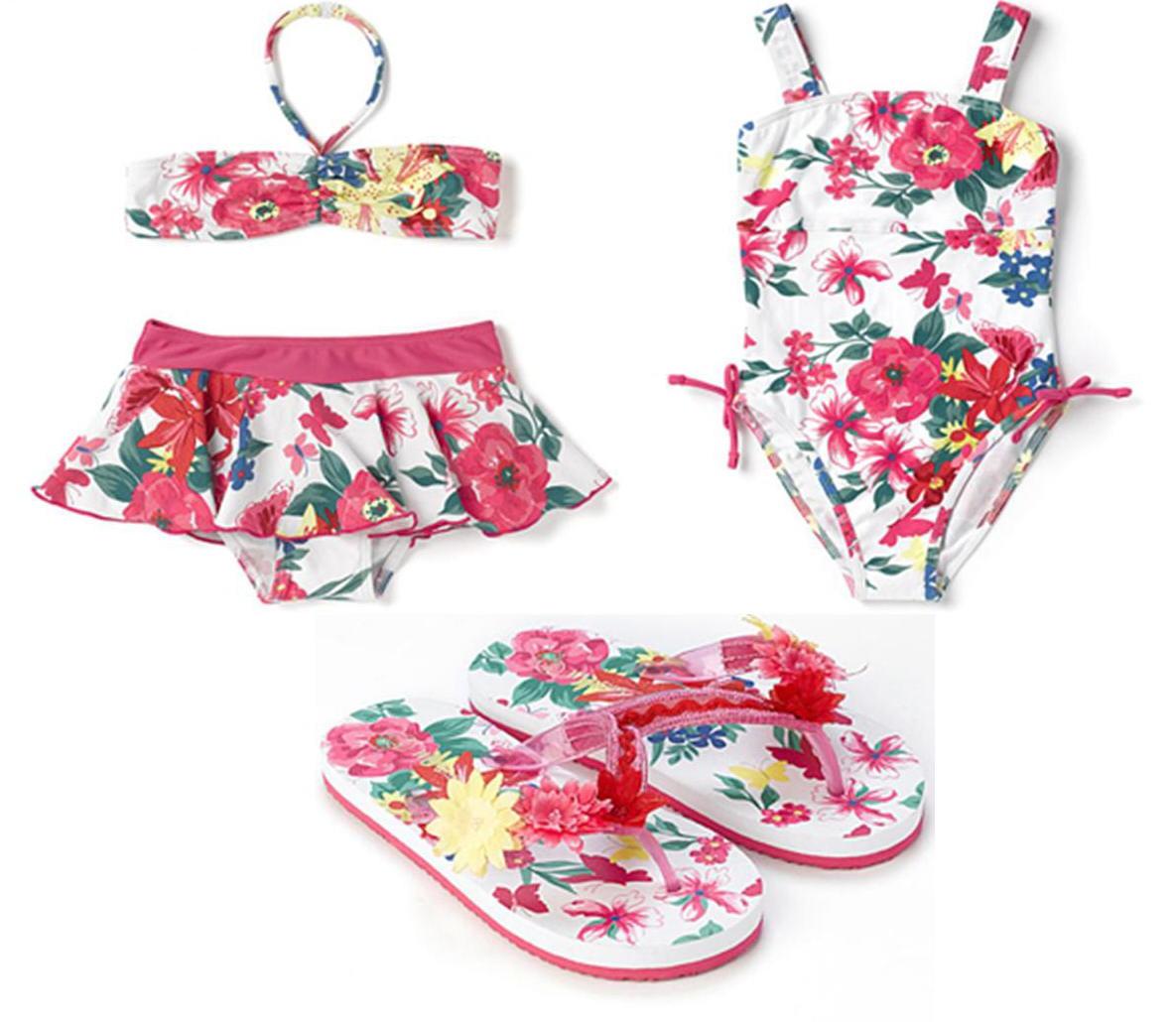 Lenceria Ropa De Baño:Lenceria y trajes de baño: Ropa de playa para niña de Monsoon