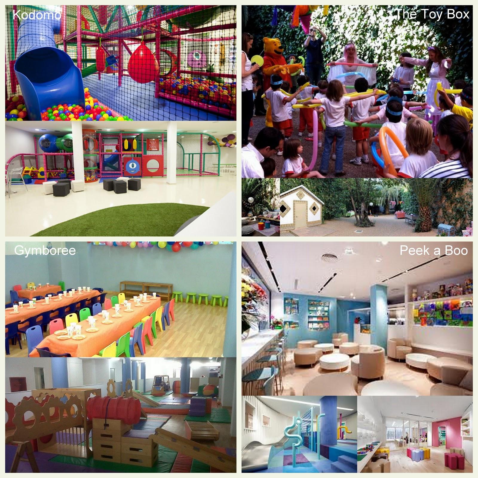 Fiestas infantiles locales y alternativas saltando en for Local fiestas infantiles barcelona