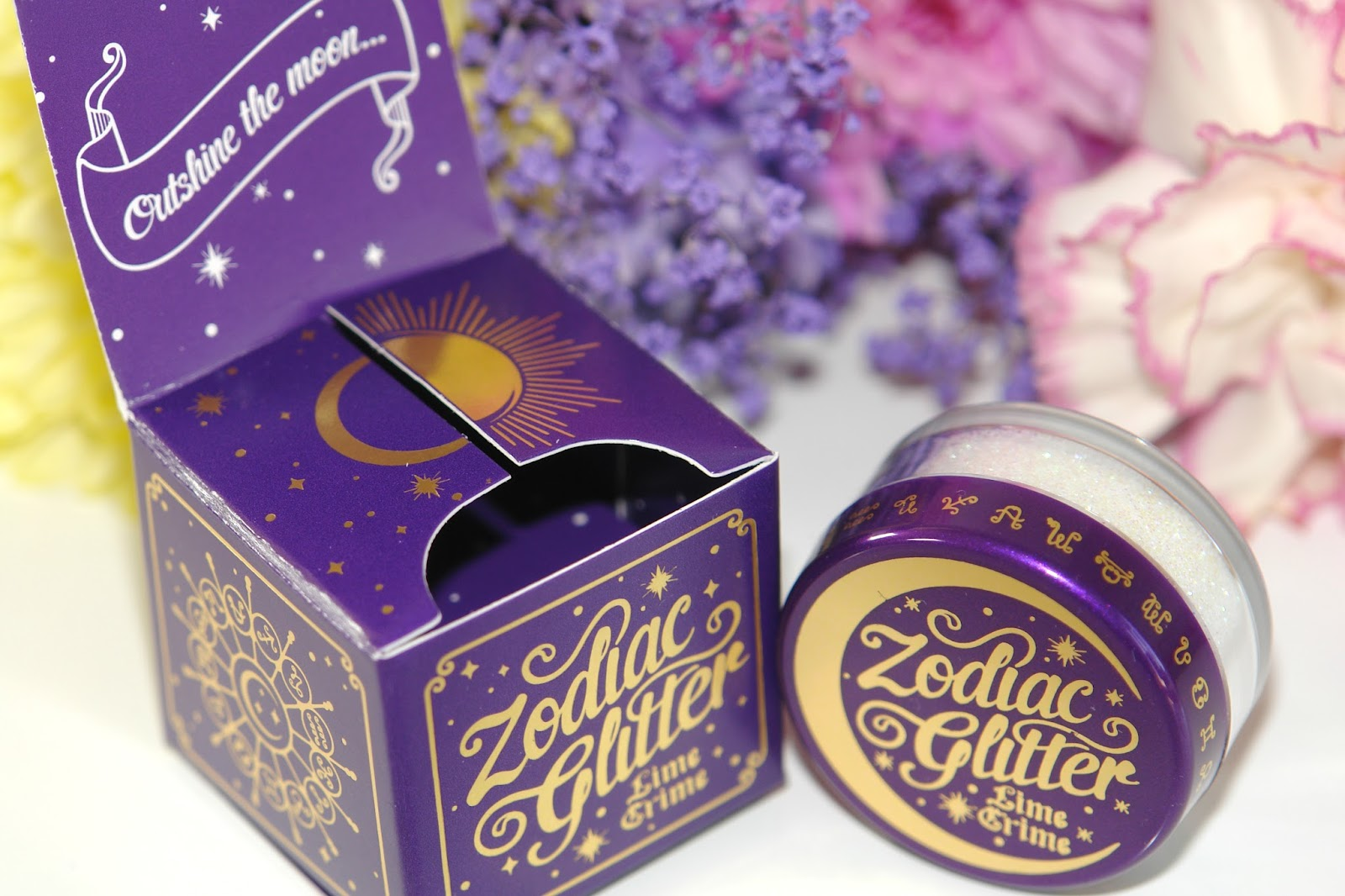 Lime Crime Zodiac Cosmetic Glitter in Gemini, galaxy, glitter, Lime Crime, make up, review, beauty, make up, top UK blog