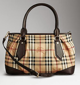 1:1 QUALITY BURBERRY HAYMARKET CHECK TOTE BAGS