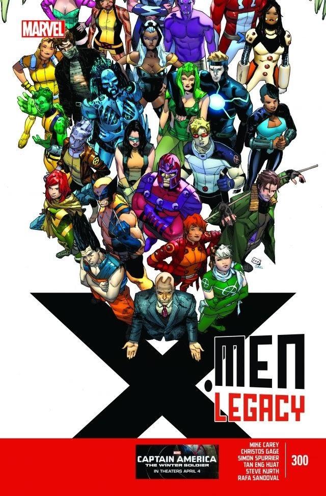 X-MEN LEGACY#300