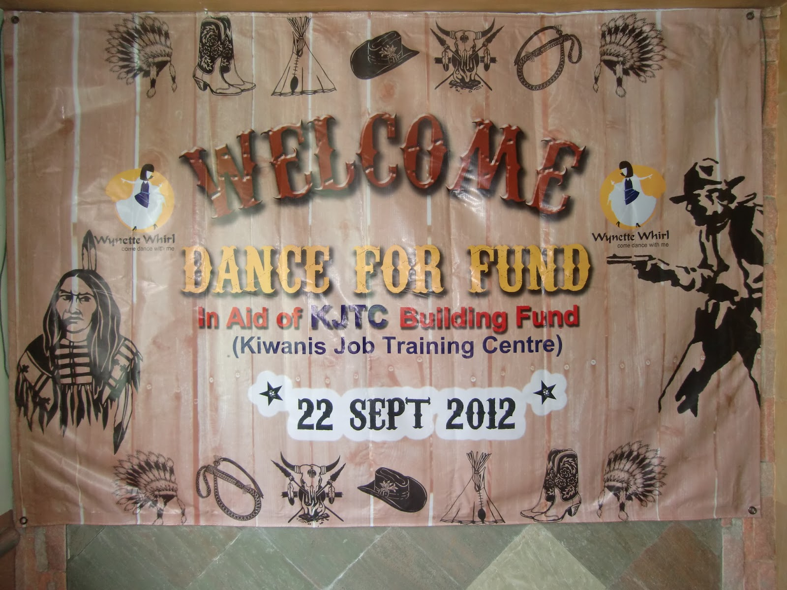 Backdrop for Country Western Nite charity dinner | Helena ...