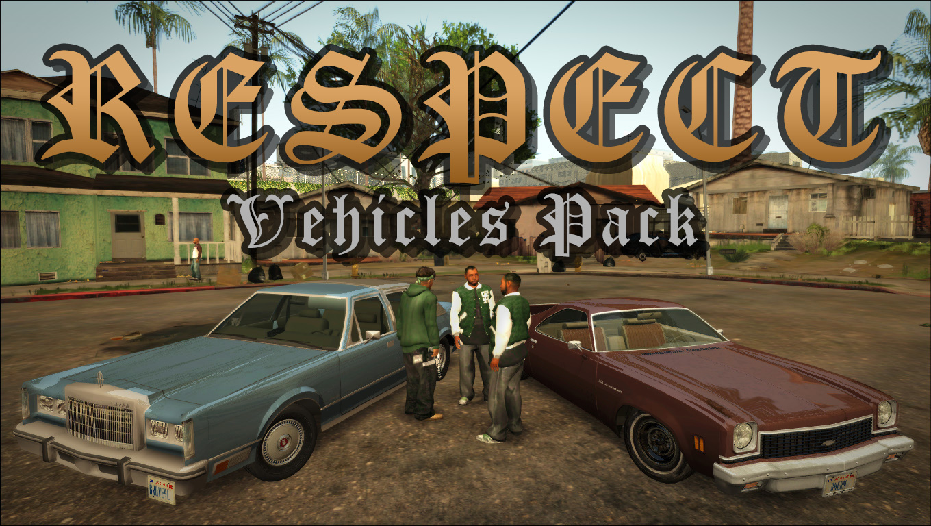 RESPECT Vehicles Pack Mod-4
