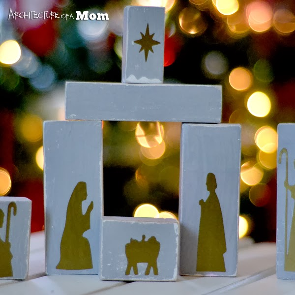 since the first christmas that i had children i have wanted to have a nativity set i believe that my children should have a hands on - Wooden Nativity Set