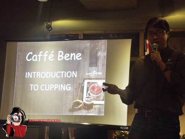 Caffe Bene Coffee Cupping Session