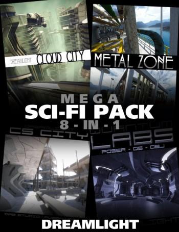 Mega Sci-Fi 8-in-1 Bundle