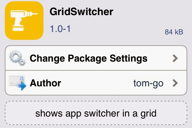 GridSwitcher Upcoming Jailbreak Tweak Allows Grid-based View