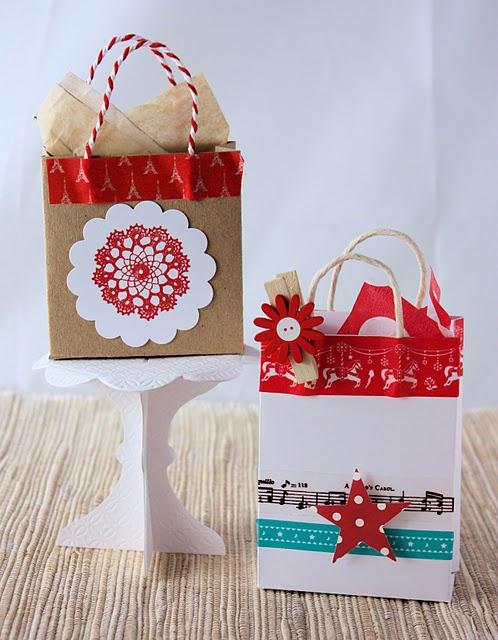 Мешки подарки своими руками 1