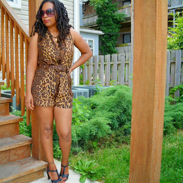 leopard pint romper ideas