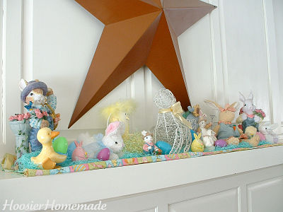 Munch ado About Nothing 28 Spring and Easter Mantel Decor Ideas – Easter Mantel Decorations