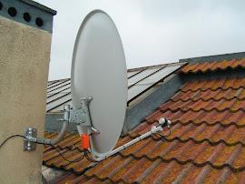 instalação para 2 satelites