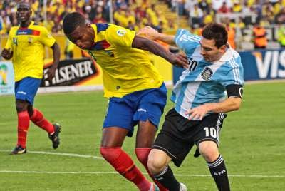 Spurs want South American centre-back