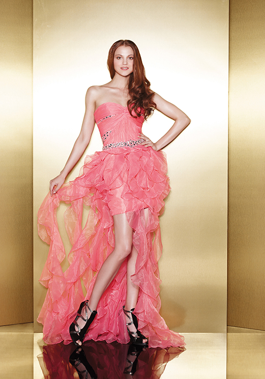 Love 16 Pink High Low Prom Dresses by Enzoani 2013