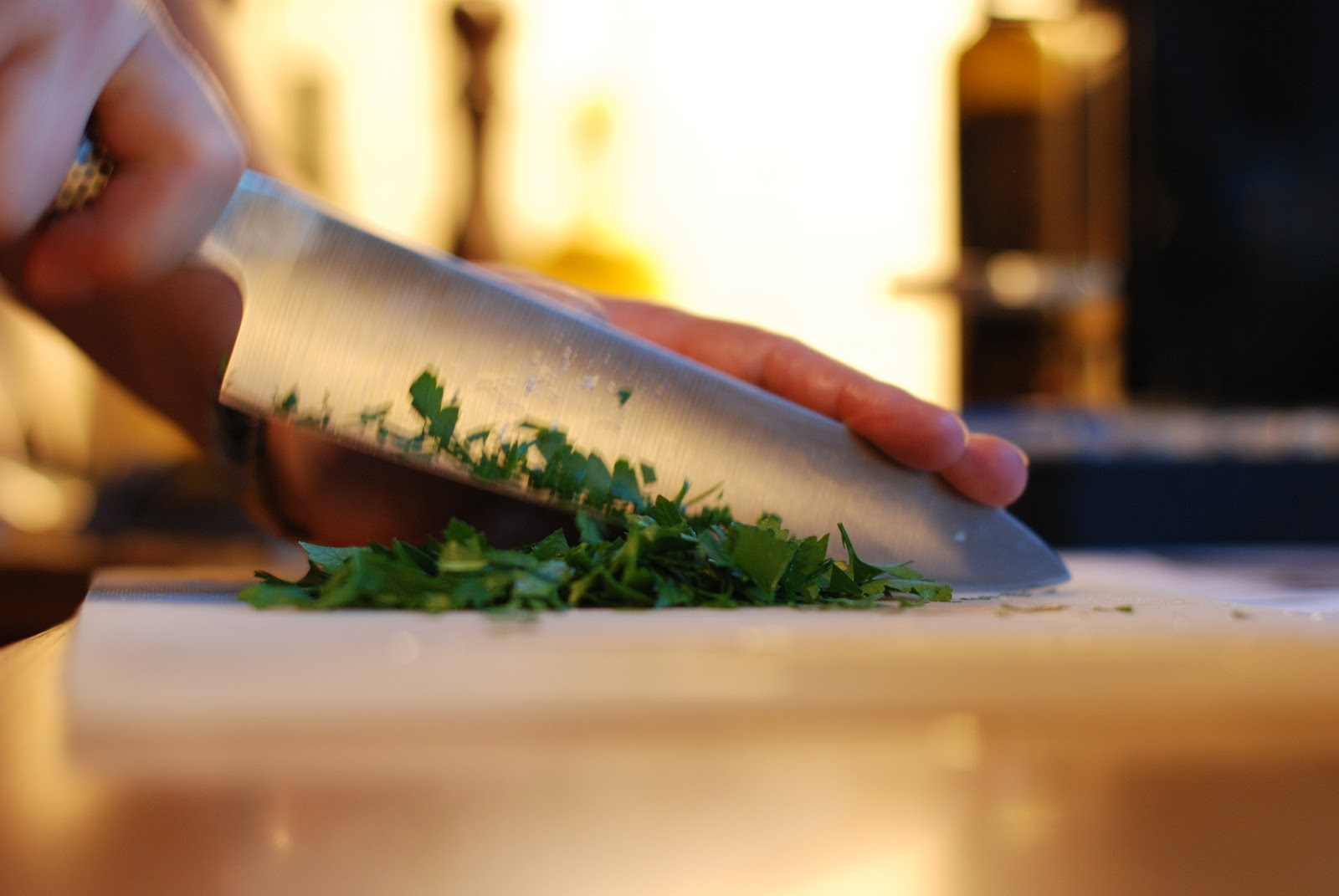 pastasalat med pesto og kjøttdeig