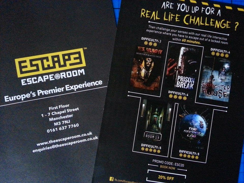 The Escape Room in Manchester Review