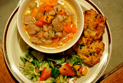 Pork And Vegetable Stovetop Stew