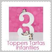 Toppers Tartas Infantiles